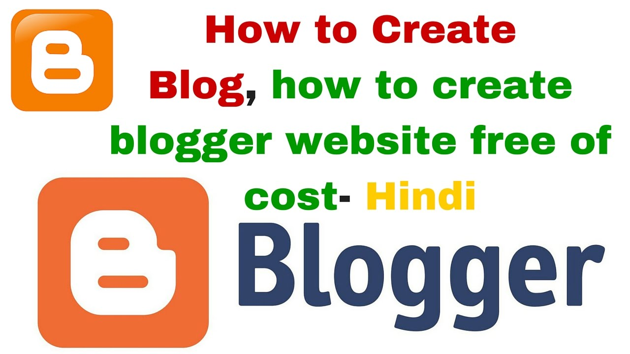 How to create a blog free website?