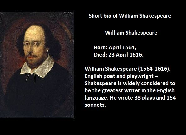 William Shakespeare Biography Essay Short Words Of Life